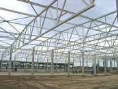 Steel structures for civil engineering